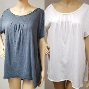 We the free people Pleated Chest Wonderer Tunic